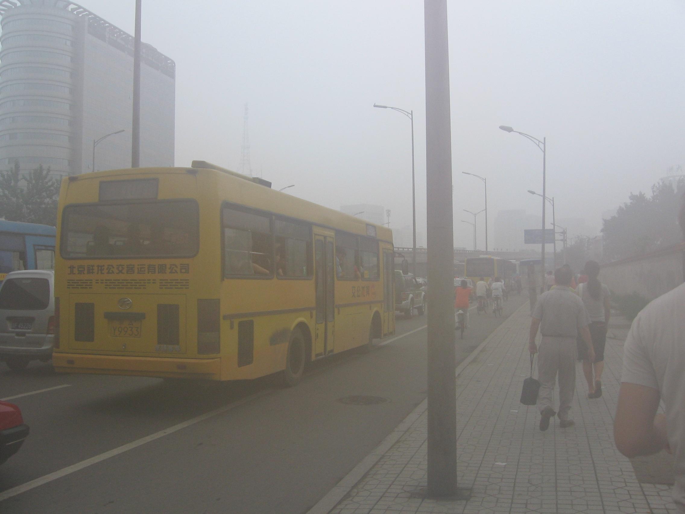 Kina vraker 6 millioner gamle biler for å bekjempe luftforurensing