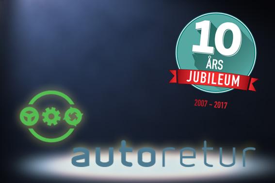 Ti år med gjenvinning av bil – En suksesshistorie!