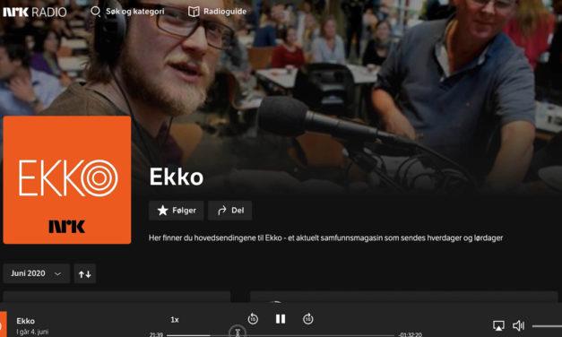 NRK kom på besøk – hør reportasjen